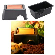 Reptile Hide Cave Pet Habitat Humidifying Nest for Snake, Frog , Gecko, Insect