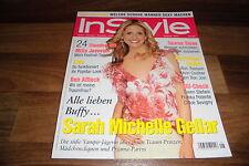 InStyle 8/2002 -- Buffy SARAH MICHELLE GELLAR / BEN AFFLECK / DIDO /SHARON STONE