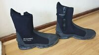 OCEANIC NEO CLASSIC MENS BLACK PRO DIVING BOOTS SIZE UK 7/8 / EU 41/42