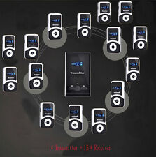 whisper radio tour guide send mini wireless tour guide system with 15 receiver