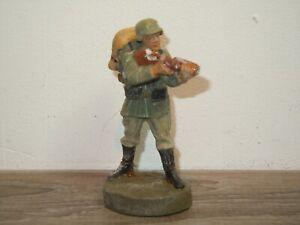 Elastolin Germany - Militair Toy - Soldier with Gun *37758