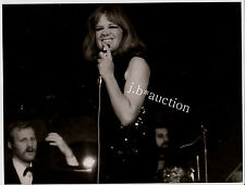 HILDEGARD KNEF Live / Stuttgart Liederhalle * Vintage Foto um 1970 #10