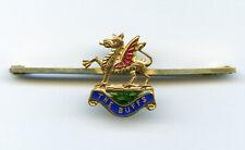 Vintage badge The Buffs (Royal East Kent Regiment) sweetheart brooch tie pin