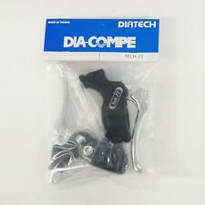 DIA-COMPE TECH-77 Brake Lever Left & Right (Pair) without Stopper Silver