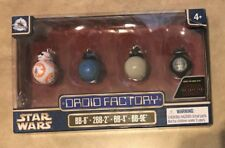 Star Wars Droid Factory Last Jedi set of 4 NEW Disney Park Excl Clone Wars NEW