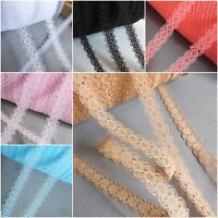 Narrow lace ribbon trim BRIDAL CRAFTS VINTAGE wraping - 10mm wide ✿10 COLOURS✿