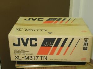 JVC XL-M317TN CD Player Compact Disc Automatic Changer & magazine NEW in box