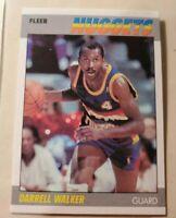 1987-88 Fleer #117 Darrell Walker NM-MT RC Rookie Nuggets