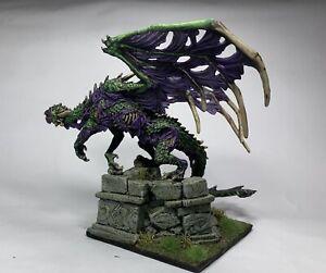 Reaper Bones Zombie Dragon Painted