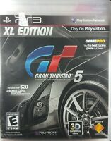 Gran Turismo 5 -- XL Edition (Sony PlayStation 3, 2012) Complete