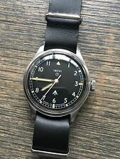 RARE EARLY '67 VINTAGE SMITHS 6B BRITISH ARMY / RAF MILITARY WRIST WATCH W10 JLC