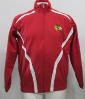 Chicago Blackhawks NHL G-III Men's Full Zip Track Jacket Red White M L XL