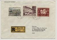Österreich 1955 REKO-AUSLANDSBRIEF, WIEN nach MÜNCHEN (Deutschland)