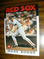 1986 Topps #510 Wade Boggs Boston Red Sox NrMt