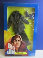 Italian VINTAGE BIG JIM OUTFIT ACTION FIGURE mattel LEATHER adventure set 98W