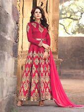 Fashionuma Ethnic Designer bangalori Silk Anarkali Salwar Suit