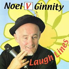 Noel V. Ginnity - Laugh Lines | NEW & SEALED CD (Irish Comedian)
