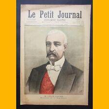 LE PETIT JOURNAL Suppl. illustré M. FÉLIX FAURE 27 janvier 1895