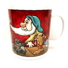 Disney Snow White Sleepy Mug 32oz I think I need A Bigger Cup Cartoon Coffee Tea