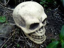 """Latex only skull mold plaster concrete cement mould 7"""" x 5"""" x 4""""H"""