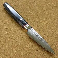 Japanese SAIUN Kitchen Fruit Paring Knife 90mm 3.5 inch VG10 Damascus SEKI JAPAN