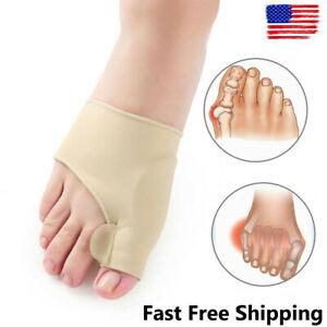 Soft Bunion Corrector Big Toe Straightener Pain Relief Hallux Valgus Foot Care