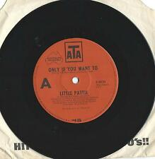 """Little Pattie     """"Only If You Want To""""       76 ATA 45 Single Vinyl"""