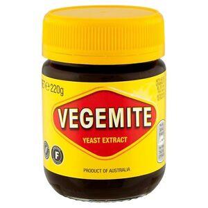Kraft Vegemite Yeast Extract  220g x 5 Jars - Sold Worldwide from UK