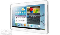 7'' Samsung Galaxy Tab 2 8GB 3G Android Tablet PC GT-P3100 3.15MP Blanco White