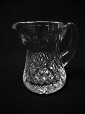 WATERFORD Fine Crystal ALANA Creamer/Small Pitcher