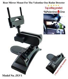 1 Nice Car Mount For Rear Mirror Valentine One Radar Detector (Cradle Included)*