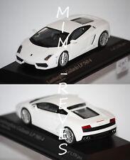 Minichamps Lamborghini Gallardo LP 560-4 Blanche 2008 1/43 400103800