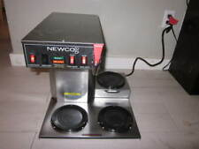 Newco 3 Burner Decanter Coffee Maker Model Ace-Lp