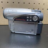 Hitachi DZ-GX5020A DVD-RAM/-RW/-R/+RW/SD Video Camera Camcorder AS IS For Parts
