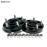 (4) 1 inch 25mm Wheel Spacers for Ford Mustang Explorer 5x114.3 CB70.5 With Lugs
