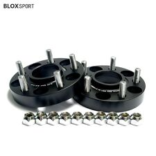"4X 1 inch Wheel Spacers for Ford Mustang GT/V6/Ecoboost 5x114.3 5x4.5"" Bore 70.5"