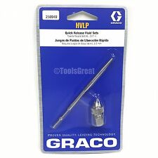 "Graco HVLP 256949 Quick Release Fluid Needle Nozzle #5 Kit 0.087"" 2.2mm"