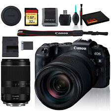 Canon EOS RP Mirrorless Digital Camera +24-240mm Lens, Cleaning Kit, 32GB Memory