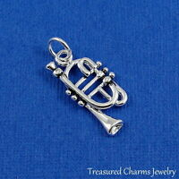 Silver TRUMPET Musical Instrument CHARM PENDANT