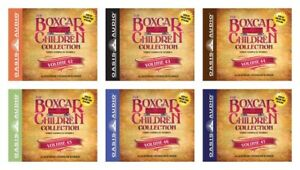 NEW The Boxcar Collection Set of 6 CDs Volume 42 43 44 45 46 47 Audio Book