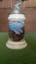 "Dram Tree Beer Stein, ""First Breath"" by Michael Hoffman, First Edition"