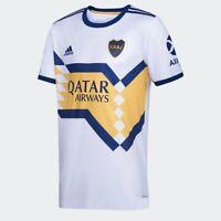 Boca Juniors Away Soccer Football Jersey Shirt - 2020 2021 Adidas Argentina