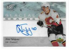 07 08 UD Ice Alex Tanguay Glacial Graphs Auto BV $25
