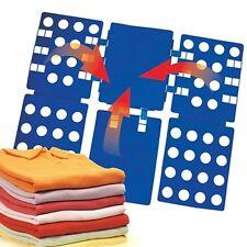 New Easy T-shirt Folder Clothes Folding Board Flip Adult Laundry Organizer
