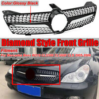 Pour Mercedes Benz W219 CLS500 Diamond Style Front Sport Grille Grill 2005-2008
