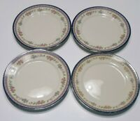 """4 Lenox China Amethyst Bread & Butter/ Dessert Plates 6 1/2 Inches"""" USA"""