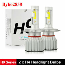 H4 9003 HB2 2800W 420000LM LED Headlight Bulbs COB kit 6000K White Lamps Light