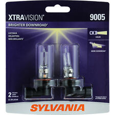 Headlight Bulb-XtraVision Blister Pack Twin Headlight Bulb Sylvania 9005XV.BP2