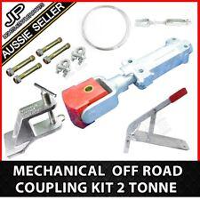 Off Road Mechanical Brake Poly Block Trailer Coupling Kit. Caravan Hitch. 2000kg