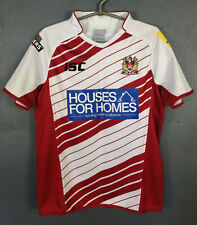 RARE ISC RUGBY WIGAN WARRIORS 2014 HOME SHIRT JERSEY CAMISETA SIZE S SMALL